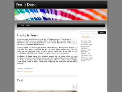 Freshy WordPress Theme