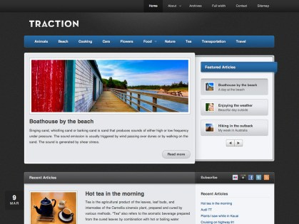 Traction WordPress Theme