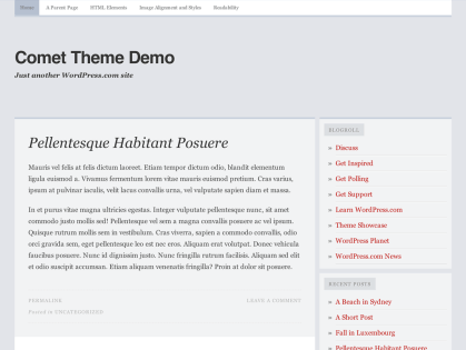 Comet WordPress Theme