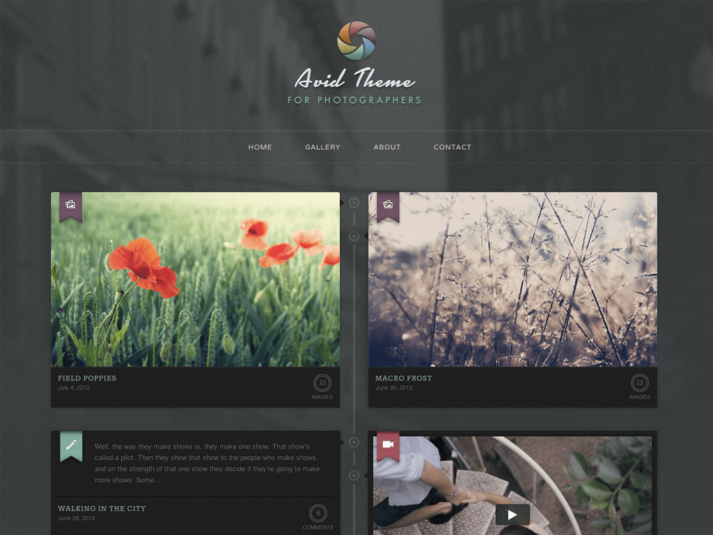 Avid WordPress Theme