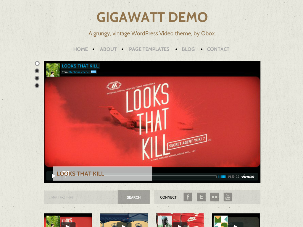 Gigawatt WordPress Theme