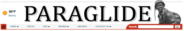 The Fort Bragg Paraglide publishes my columns in print and online.