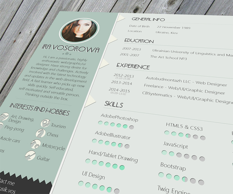 35 Best Free Resume Design Templates ThemeCot - best free resume template