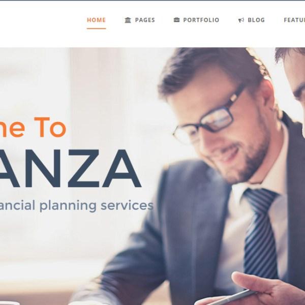 Finanza - Business WordPress Theme