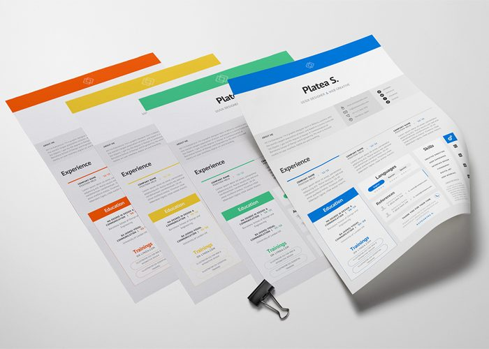 35 Best Free Resume Design Templates ThemeCot - free resume template design