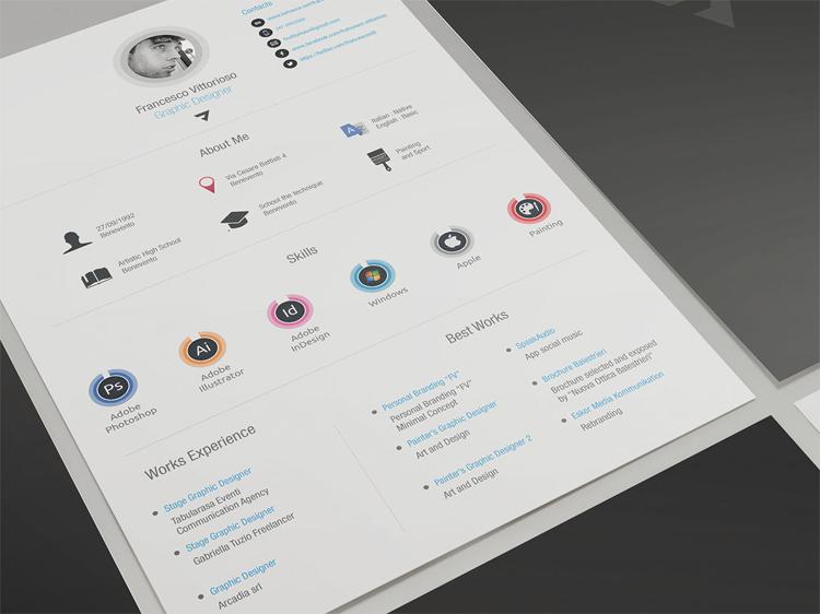 35 Best Free Resume Design Templates ThemeCot