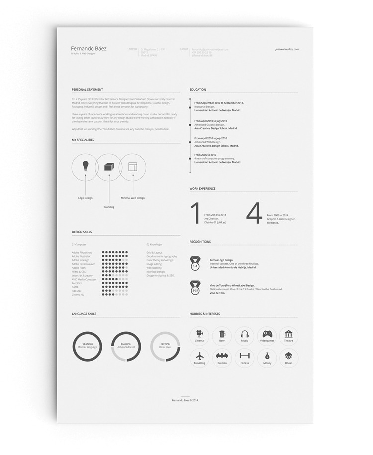 35 Best Free Resume Design Templates ThemeCot - great resume designs