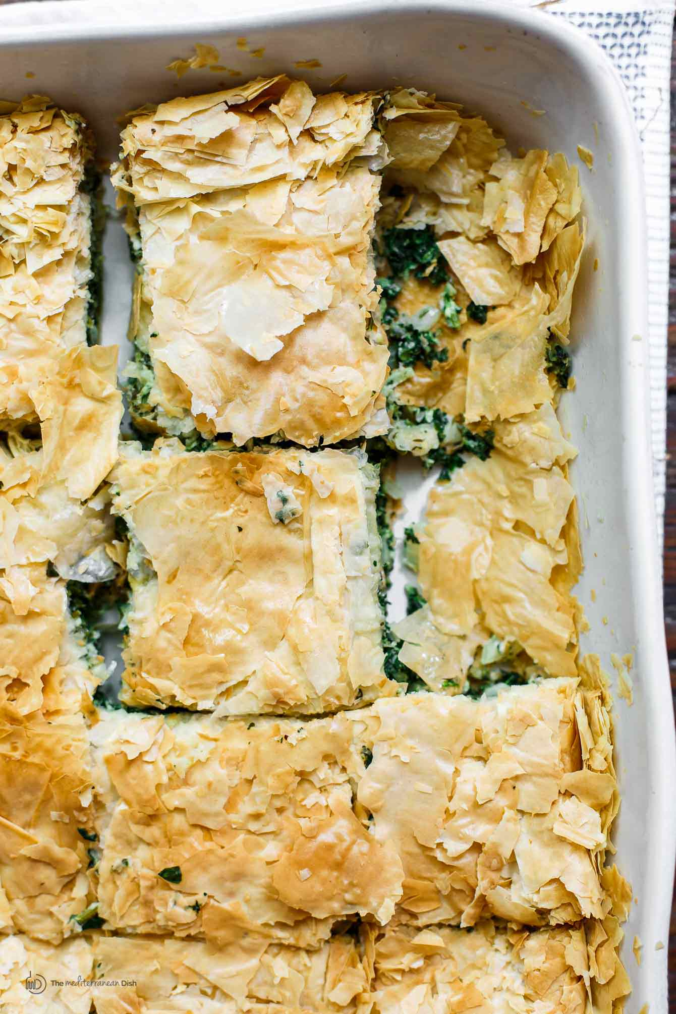 Classic Table Side Dishes Spanakopita Recipe Greek Spinach Pie