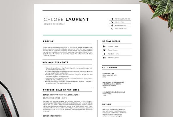 50+ CV / Resume  Cover Letter Templates for Word  PDF 2017 - resume cover