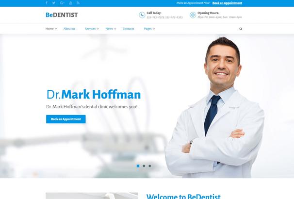 50+ Best HTML Medical Website Templates 2017