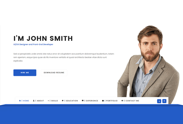 50+ Best HTML CV  Resume Templates to Download 2017 - bootstrap resume template
