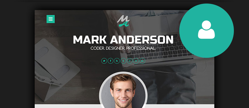 wordpress free cv theme