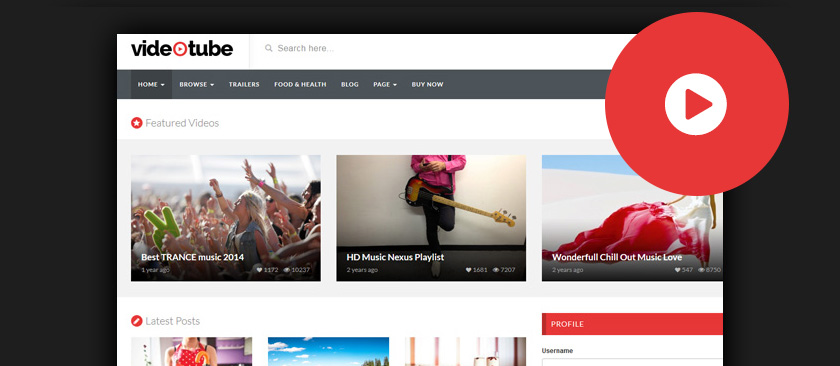 35+ Best WordPress Video Themes 2017