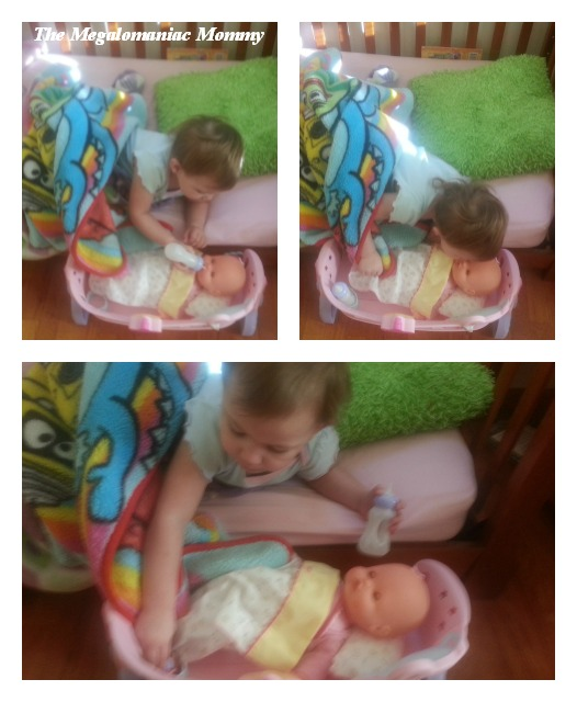 Nenuco Sleep with Me Baby Doll & Cradle Collage
