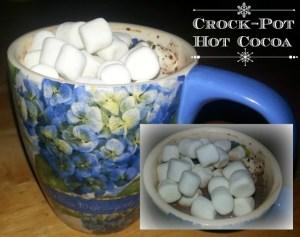 Deliciously Creamy Crock-Pot Hot Cocoa