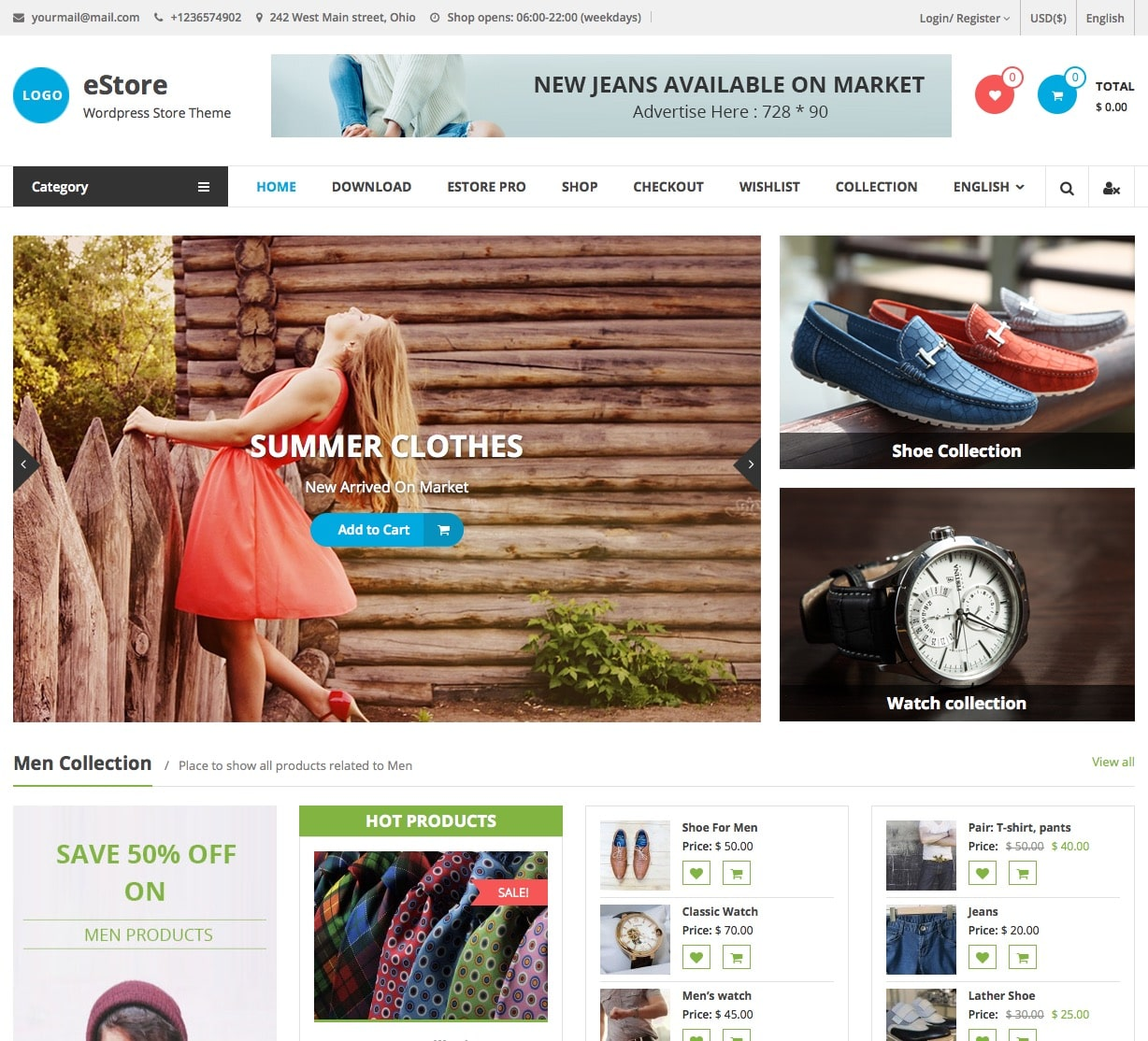 Salon E Commerce 2016 40 Best Free Wordpress Woocommerce Themes For 2019