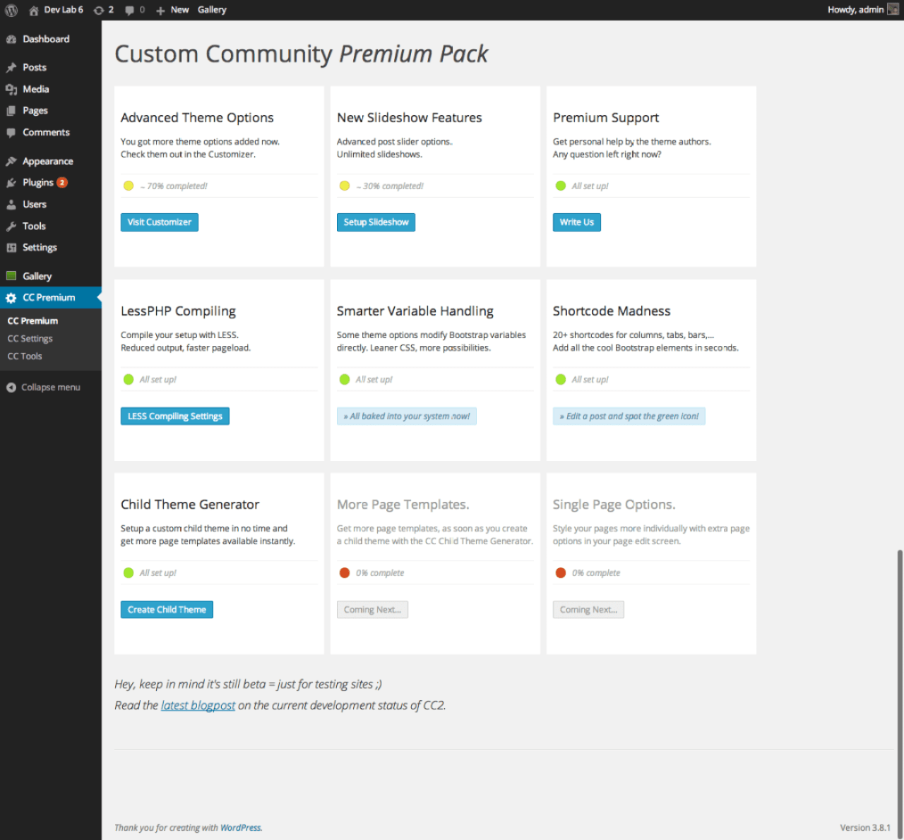 Custom-Community-2-Premium-Dashboard