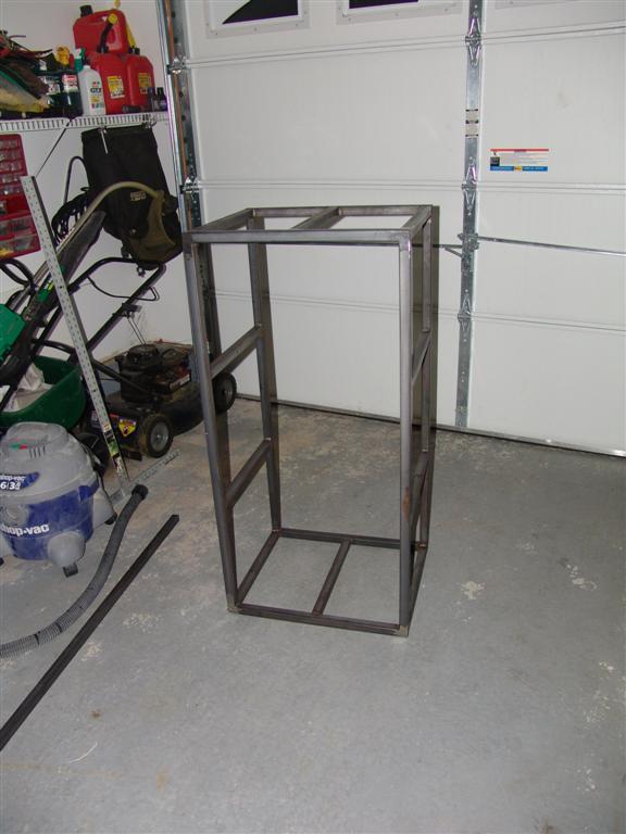 Homemade Server Rack - Home Design