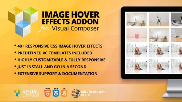 Image Hover Effects Addon for WPBakery Page Builder