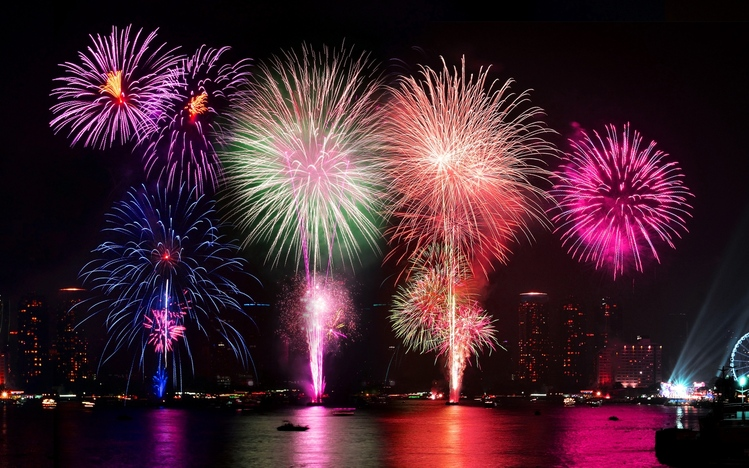 3d Wallpaper Windows 8 1 Fireworks Windows 10 Theme Themepack Me
