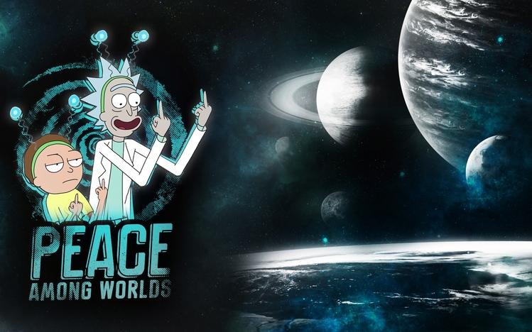 Wallpaper Gravity Falls Hd Rick And Morty Windows 10 Theme Themepack Me
