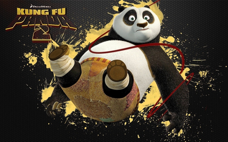 Screenshot Wallpaper Gravity Falls Kung Fu Panda 2 Windows 10 Theme Themepack Me