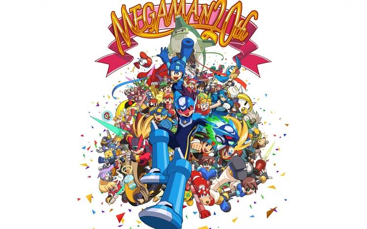 3d Laser Wallpapers Mega Man Windows 10 Theme Themepack Me