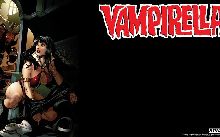 Harley Quinn Power Girl Wallpaper Hd Vampirella Windows 10 Theme Themepack Me