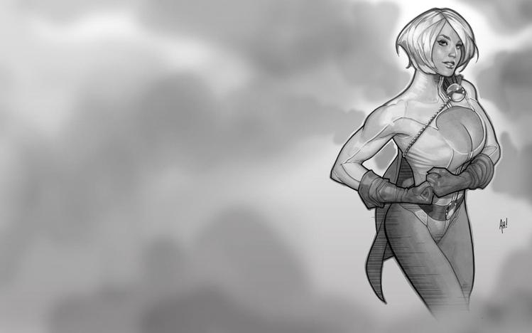 Steampunk Girl Wallpaper Hd Power Girl Windows 10 Theme Themepack Me