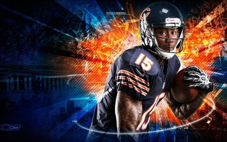 Chicago Bears Girl Wallpaper Chicago Bears Windows 10 Theme Themepack Me