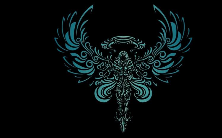 Dark Theme Wallpaper Hd Quote Tribal Windows 10 Theme Themepack Me