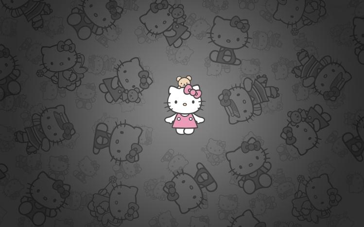 Cute Rainy Weather Wallpapers Hello Kitty Windows 10 Theme Themepack Me