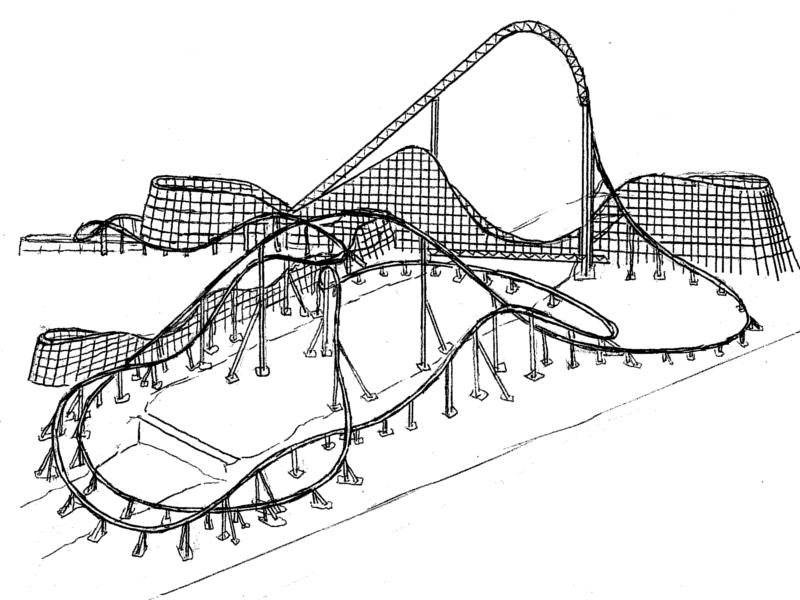 rollercoaster diagram