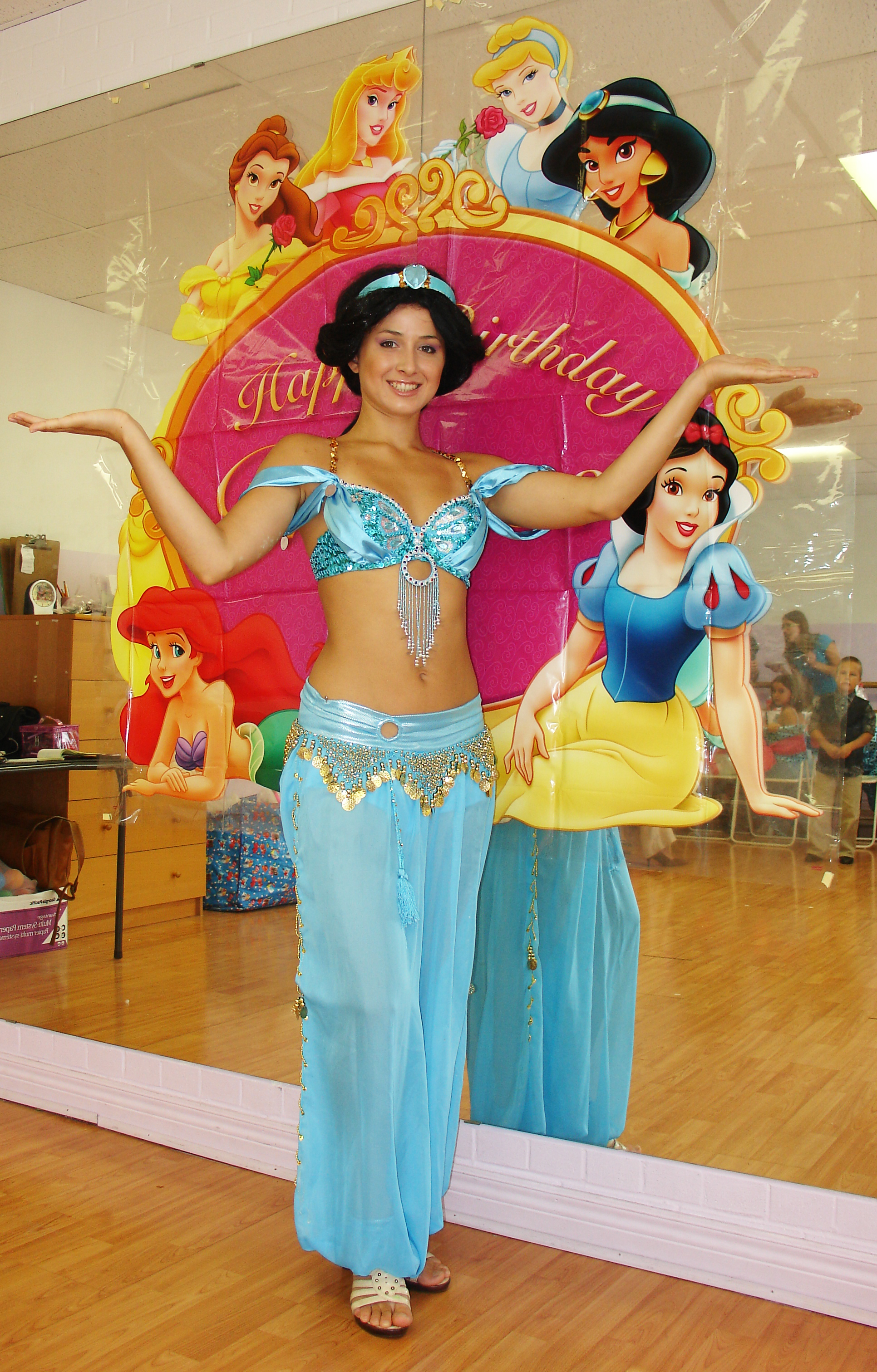 Book Services Ltd Jasmine Princess Party Toronto Fairyland Theatre Kids