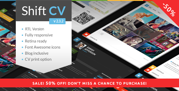 10 Best Online CV  Resume WordPress Themes