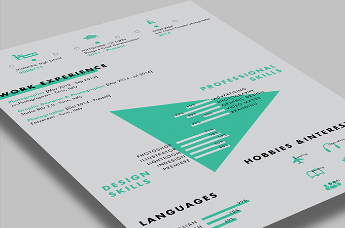 40 Free Printable CV Templates in 2017 to Get a Perfect Job - Attractive Resume Templates