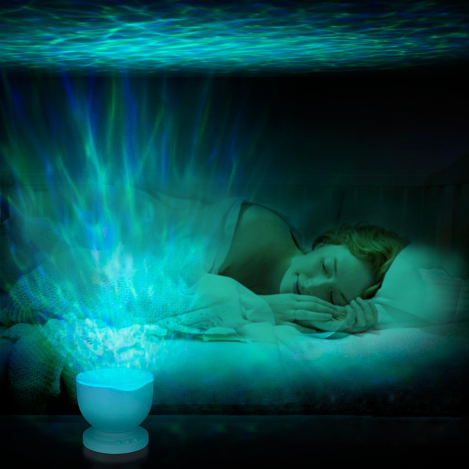 Best Nightlight For Sleep Best Plug In Night Light Ocean Projectors The Mermaids Home