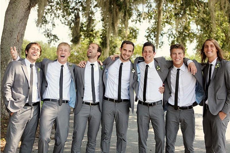 Stylish grooms