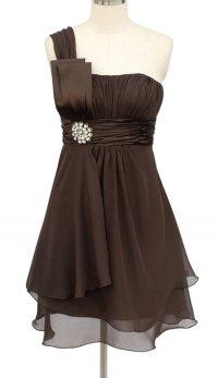 Chocolate-brown wedding | The Merry Bride