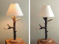 DIY Branch Table Lamp - The Merrythought
