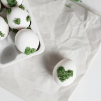 DIY Moss Design Eggs