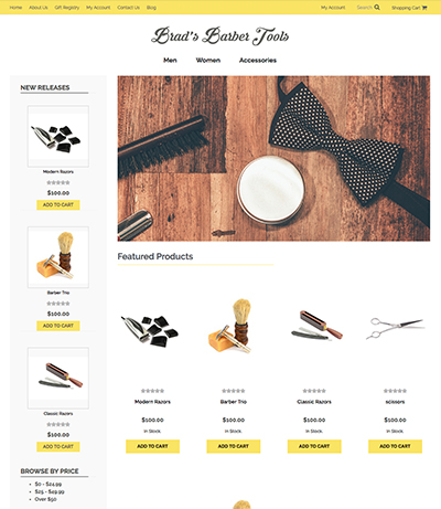 Free eCommerce Themes for Online Stores