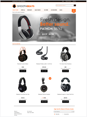 Ecommerce Templates  Online Store Template
