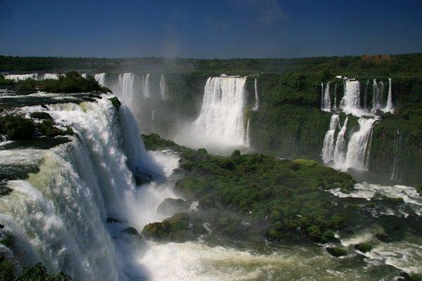 Iguazu Falls Brazil Wallpaper Iguazu Falls