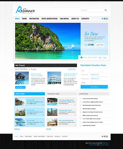 20+ Best Travel WordPress Themes - Themes4WP