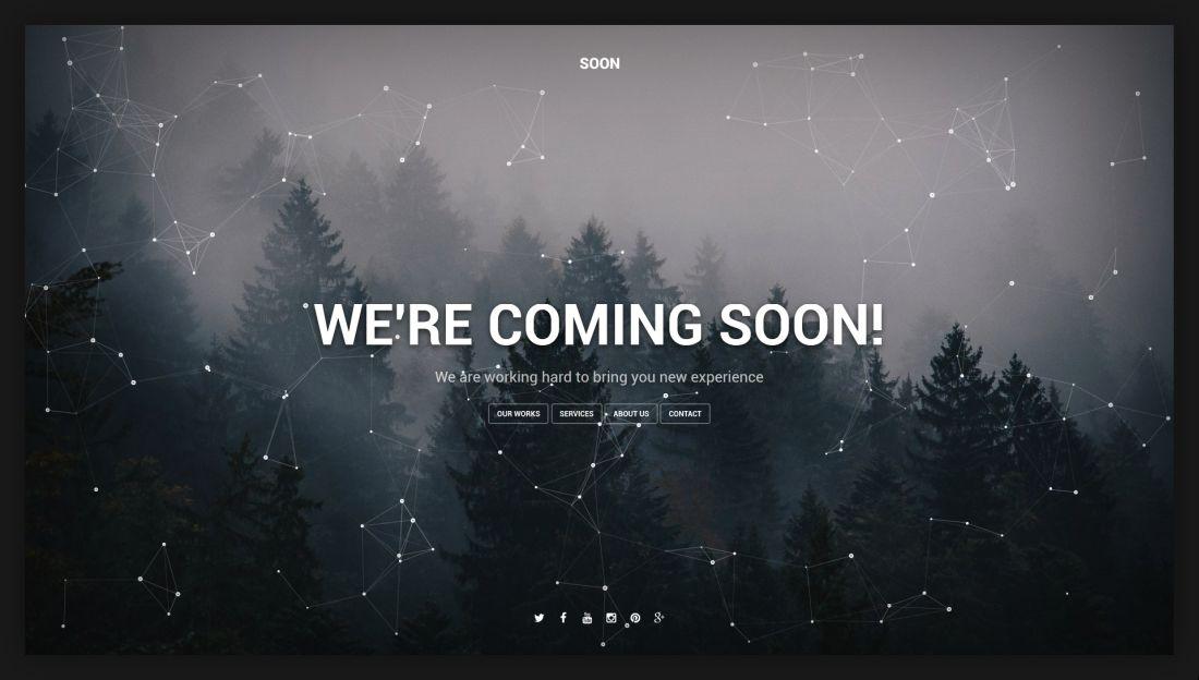 Soon - Coming Soon Template