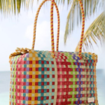 Mexican Woven Rectangle Tote from Boutique Mexico