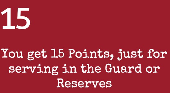 Understanding Guard and Reserve Points  Retirement