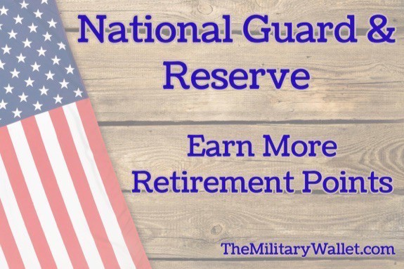 Guard  Reserve Retirement Points - How to Earn More Points