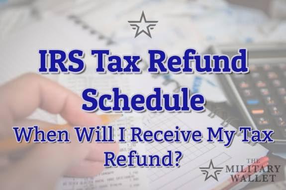 2018 IRS Tax Refund Schedule - Direct Deposit Dates - 2017 Tax Year